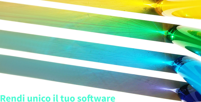 Rendi unico il tuo software